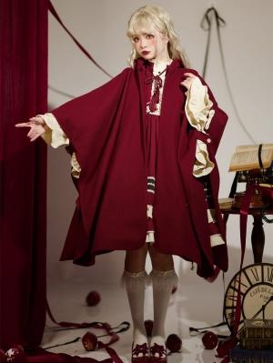 Miss Butterfly Halloween Lolita Dress Matching Hooded Cape