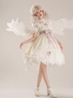 Madhouse Authorized Card Captor Sakura Lolita Dress JSK / Round Neckline Shirt Set