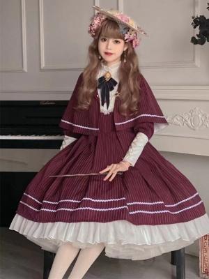 Heroic Girl Classic Lolita Dress Matching Cape