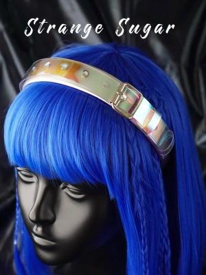 Handmade Y2K Silver Buckle Cyberpunk KC