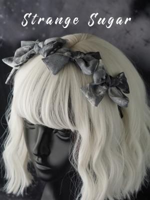Handmade Gothic Gray Bownot Decorative KC