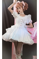 Little Idol Square Neckline Sweet Lolita Dress JSK