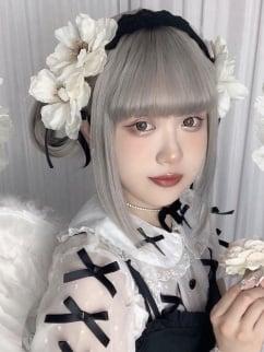 Lolita Flower Gothic Dark Sweet Punk Girl Hair Band