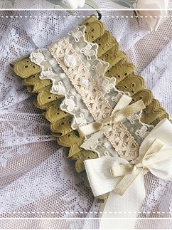 Matcha Biscuits Lolita Sweet Pastoral Daisy Hair Band