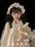 Icing Sugar Lullaby Lolita Dress Matching Hairband / Shawl
