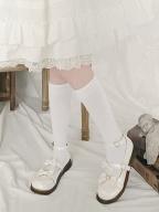 JK Uniform Under Knee Lolita Stockings by Stellar Winds of the Universe
