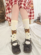 Teddy in Sweet Dream Lolita Stockings by Stellar Winds of the Universe