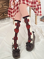 Earl Kitty Series Heart Lolita Stockings by Stellar Winds of the Universe
