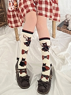 Earl Kitty Series Bowknot Lolita Stockings by Stellar Winds of the Universe