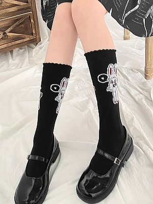 Bunny Doll Lolita Stockings by Stellar Winds of the Universe