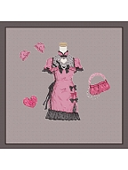 Diamond Sweetie Short Puff Sleeves Qi Lolita Dress by To Alice