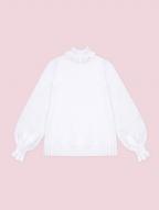 Snowy Castle Night High Neck Long Sleeves Lolita Sweater