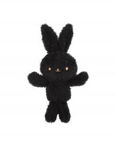 Flocking Leopard Punk Lolita Dress Matching Bunny Doll Brooch