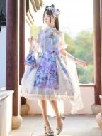 The Nine-Colored Deer Qi Lolita Dress Full Set by Garden Cat