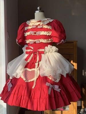 Doze Off Time Old School Lolita Dress Matching Overlay