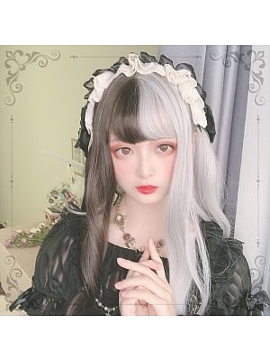 Gothic Long Length Curly Lolita Synthetic Wig
