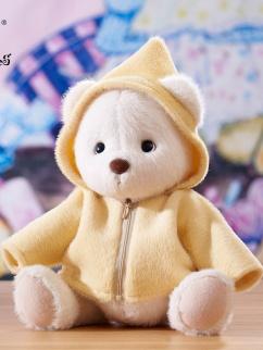 Medium Bunny / Bear Lolita Plush Doll Zipper Hoodie by Teddy Tales