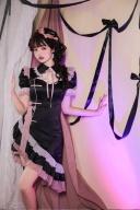 Sixteen Night Rose Turndown Collar Short Sleeves Lolita Dress OP by Unknown Star