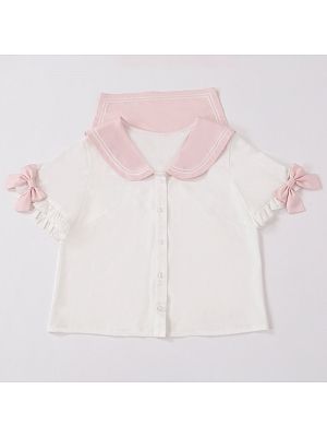 Bunny Carnival Sweet Lolita Overall Dress Matching Shirt by Unknown Star