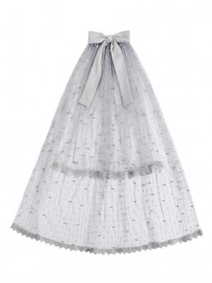 Dream of Stars Hanayome Elegant Lolita Dress Matching Veil / Train / Wristcuffs / Choker