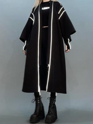 Cyberpunk Reflective Long Outwear