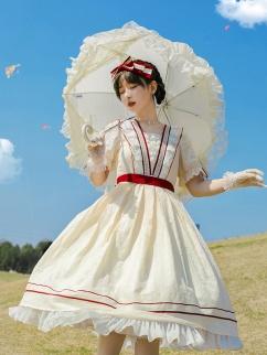 Dream Encounter Elegant Lolita Dress OP by With PUJI