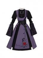 Circe's Incantation Halloween Long Sleeves Elegant Lolita Dress OP