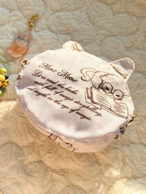 Detective Meow Sweet Lolita Dress Matching Bag