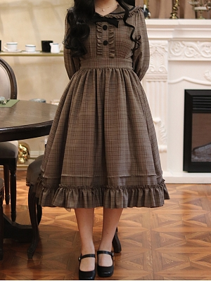 Agatha Incident Book Detective Lolita Dress OP by Sweetwood Lolita