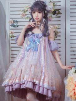 Doggy Donuts Sweet Lolita Dress JSK Set by YINGLUOFU