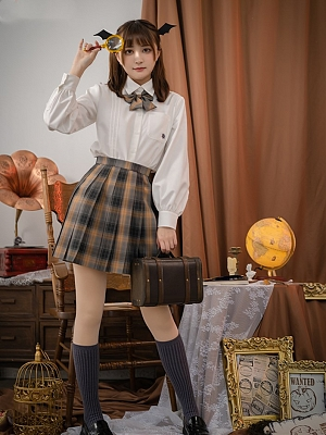 Trainee Witch 45cm JK Pleated Skirt