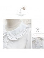 Lily of The Valley Peter Pan Collar Lolita Shirt by ZhiJinYuan