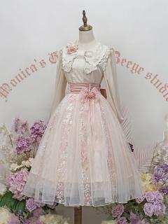 Monica's Garden Gorgeous Lolita Skirt by ZeeYe Studio