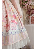 Ready to Ship - Teddy's Birthday Party Sweet Lolita Long Sleeves Dress by Lollipops Lolita