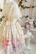 Teddy's Birthday Party Sweet Lolita Dress Matching Headpieces by Lollipops Lolita