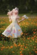 Ready to Ship - Teddy's Birthday Party Sweet Lolita Dress JSK by Lollipops Lolita