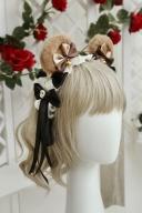 Save My Teddies Bonnet / Teddy Ears KC by Lollipops Lolita